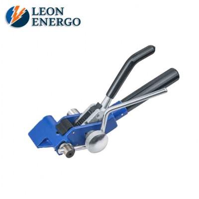 Инструмент для натяжения и резки стальной ленты с храповым механизмом