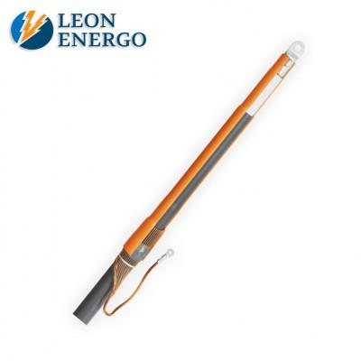 Концевая муфта для одножильного кабеля с пластмассовой изоляцией напряжением 6,10,20 кВ ПКВ(Н)тО 10-20